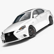 Lexus IS 350 F SPORT 3d model
