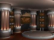 Virtual Set 13 3d model