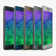 Samsung Galaxy Alpha Tüm Renk 3d model