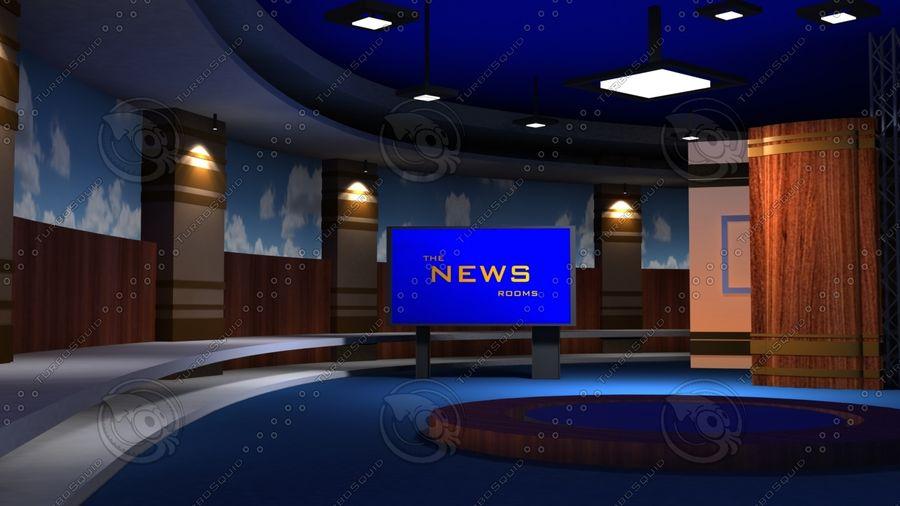 Virtual Set19 royalty-free 3d model - Preview no. 1