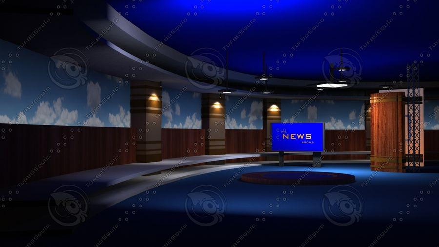 Virtual Set19 royalty-free 3d model - Preview no. 4