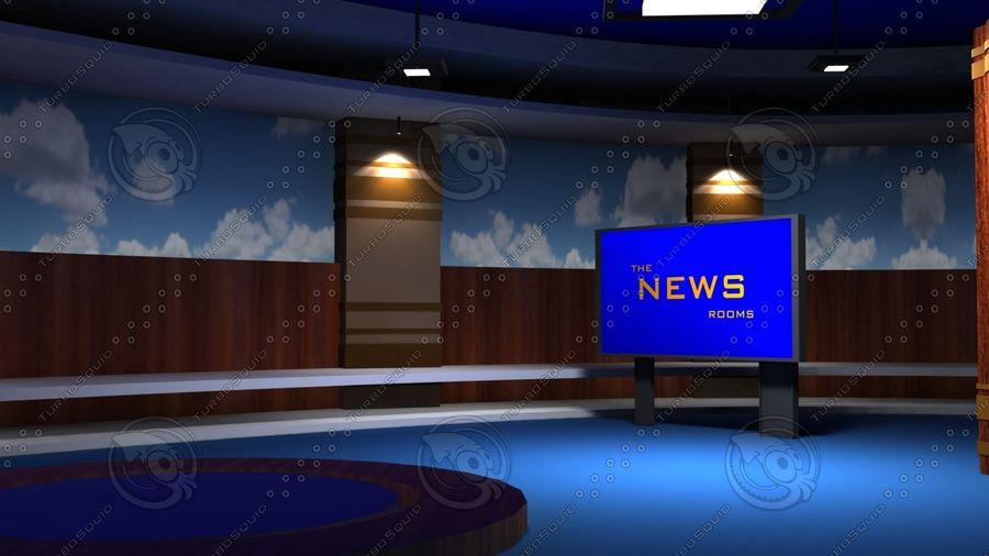Virtual Set19 royalty-free 3d model - Preview no. 5
