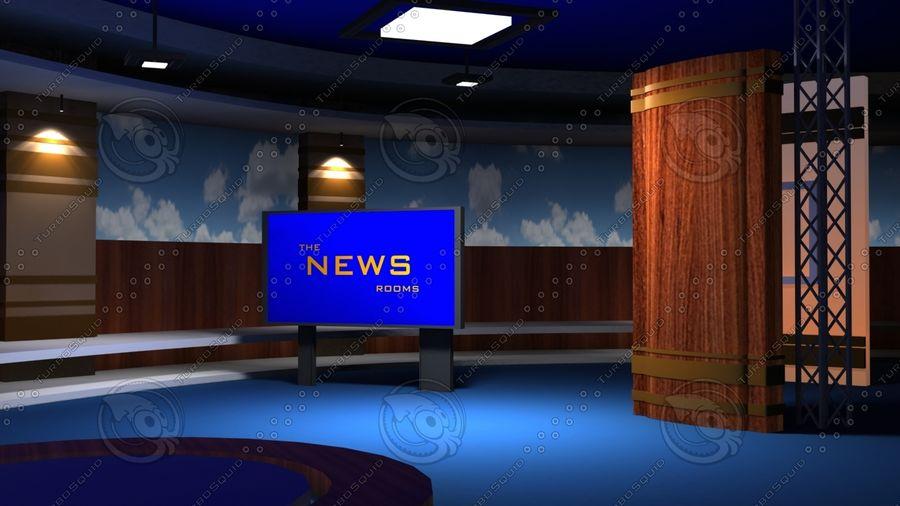 Virtual Set19 royalty-free 3d model - Preview no. 3