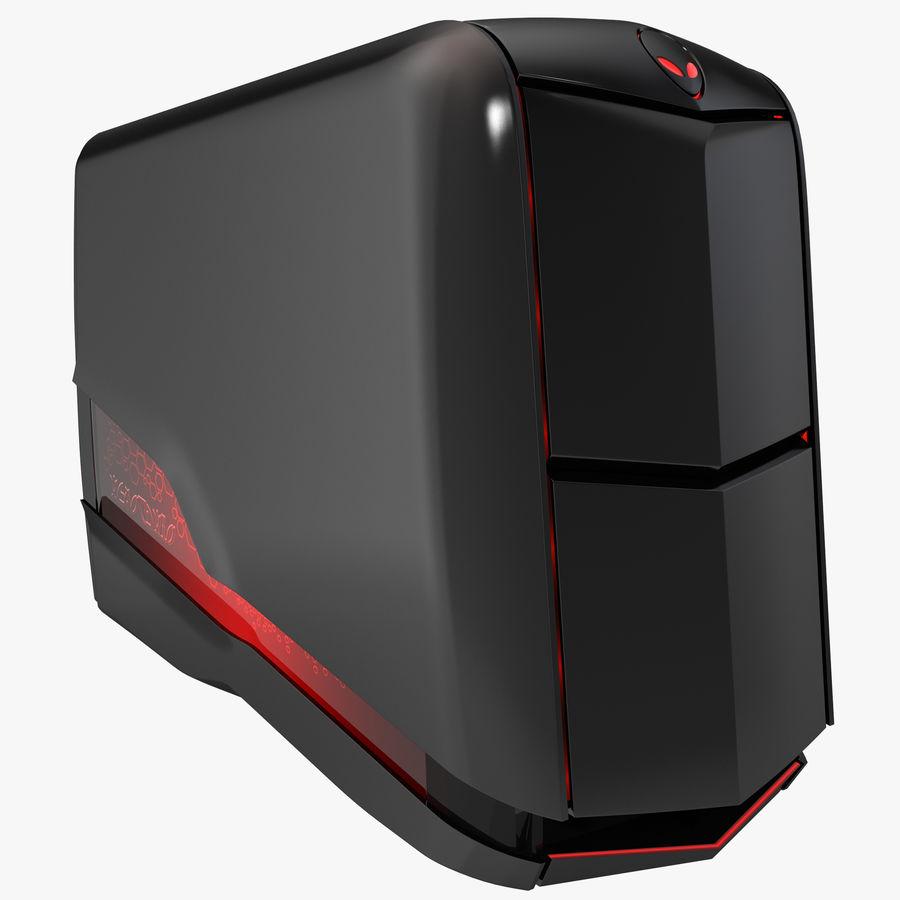 Alienware Aurora Desktop Computer royalty-free 3d model - Preview no. 1