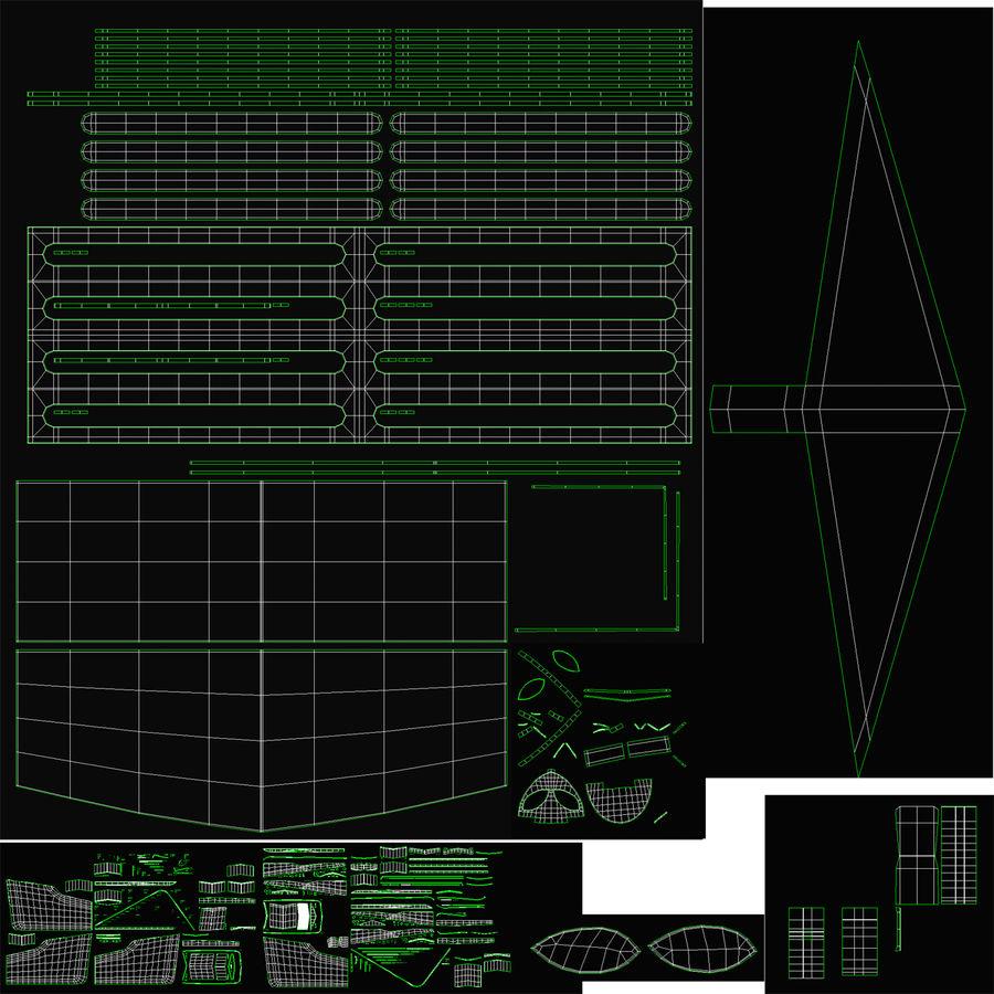 Alienware Aurora Desktop Computer royalty-free 3d model - Preview no. 31