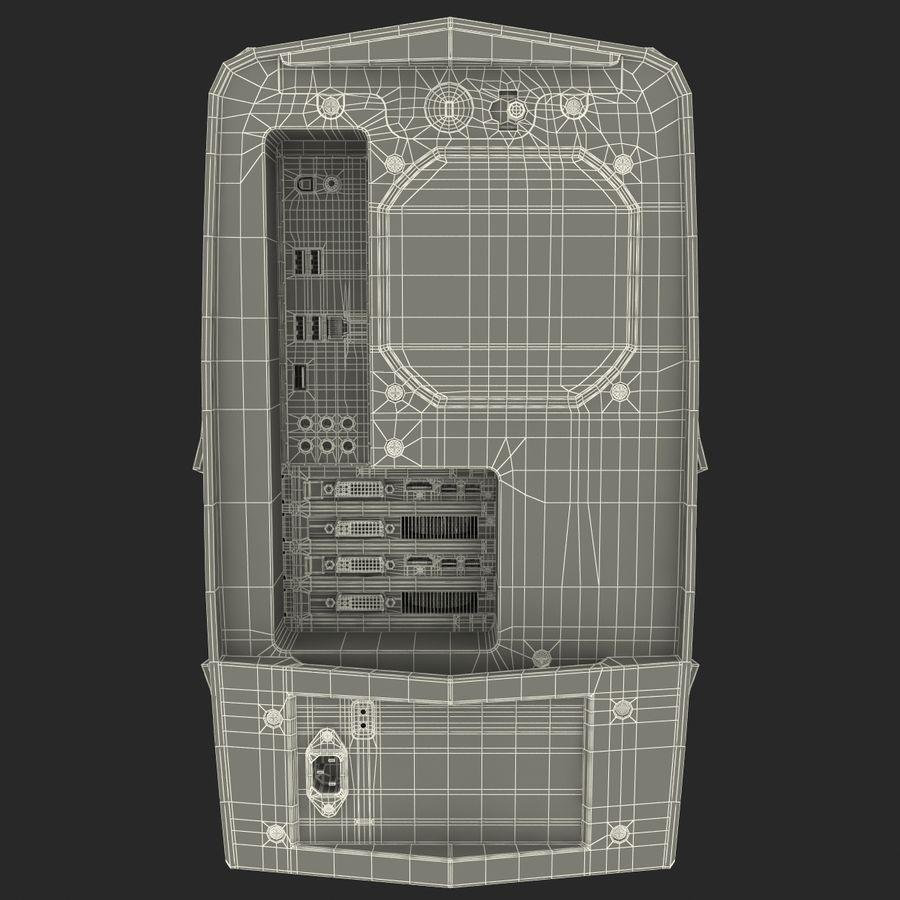 Alienware Aurora Desktop Computer royalty-free 3d model - Preview no. 23