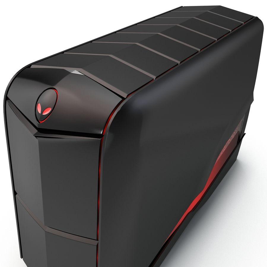 Alienware Aurora Desktop Computer royalty-free 3d model - Preview no. 13