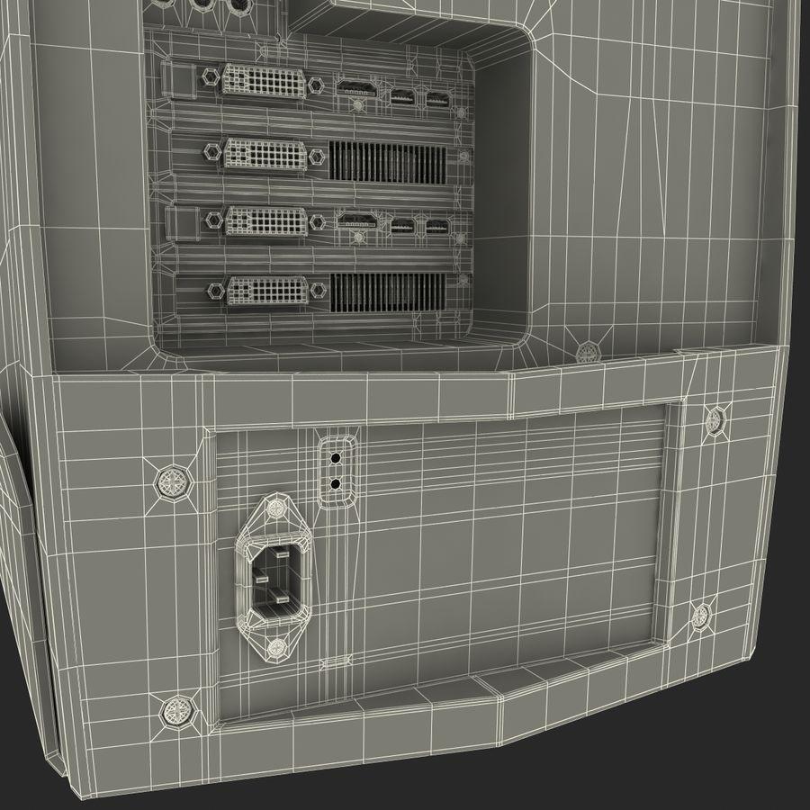 Alienware Aurora Desktop Computer royalty-free 3d model - Preview no. 28