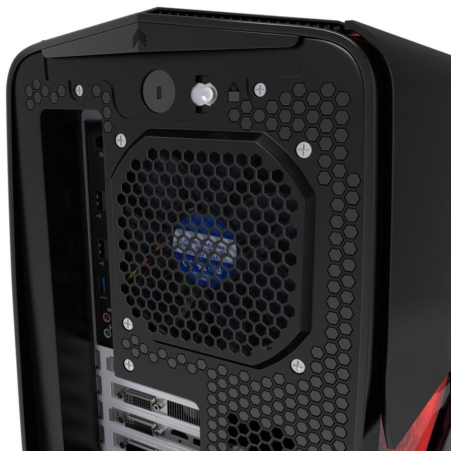 Alienware Aurora Desktop Computer royalty-free 3d model - Preview no. 17