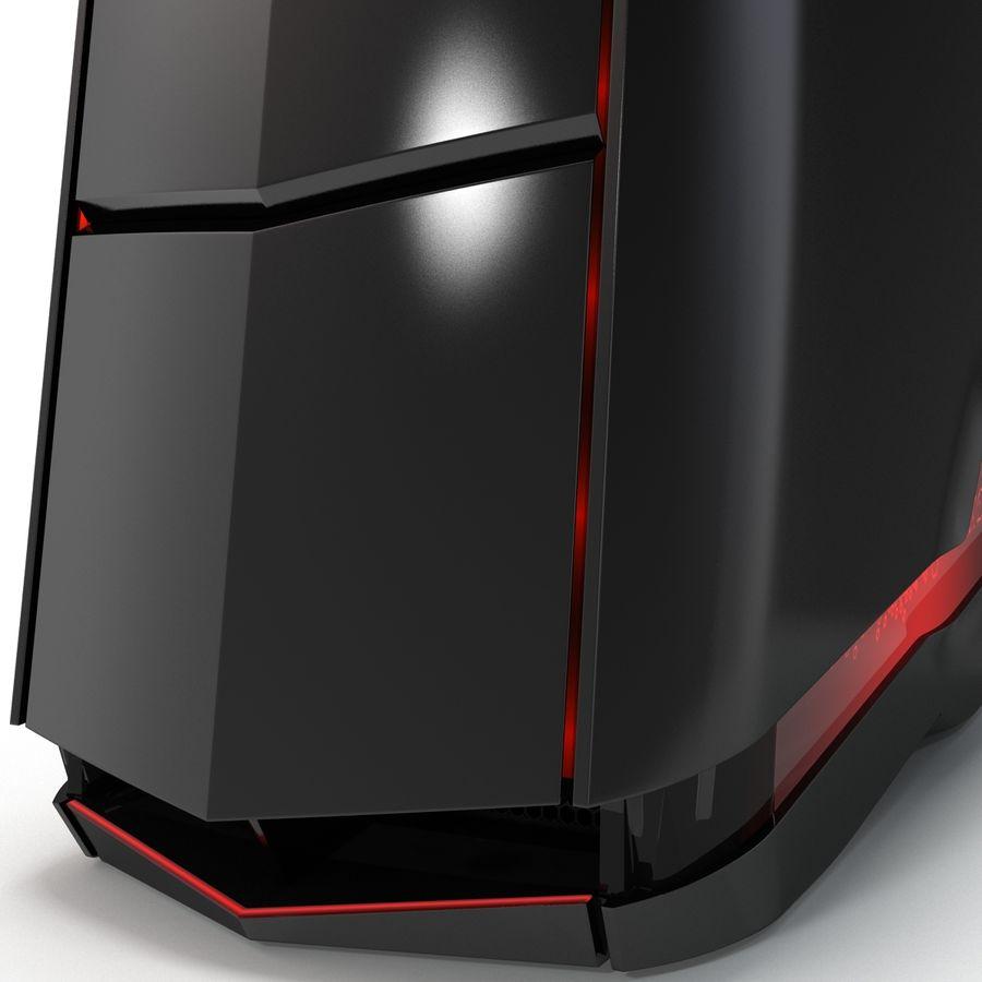 Alienware Aurora Desktop Computer royalty-free 3d model - Preview no. 15