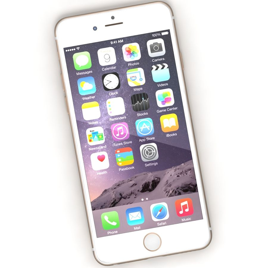 Iphone 6 Tutti royalty-free 3d model - Preview no. 16