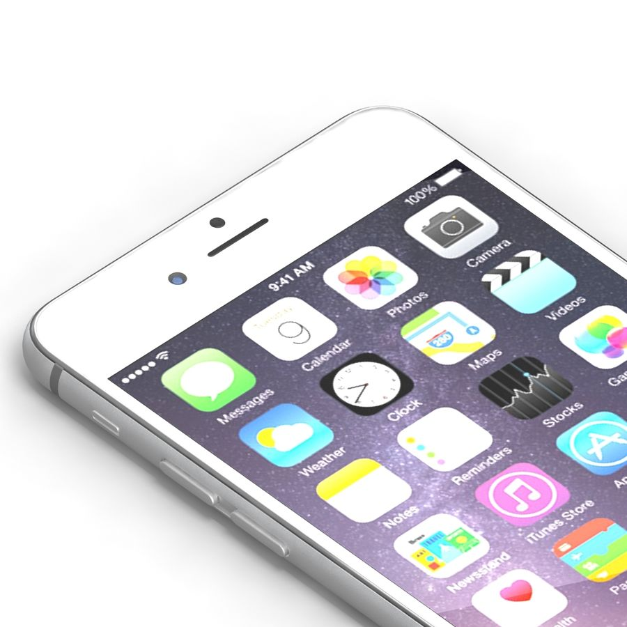 Iphone 6 Tutti royalty-free 3d model - Preview no. 26