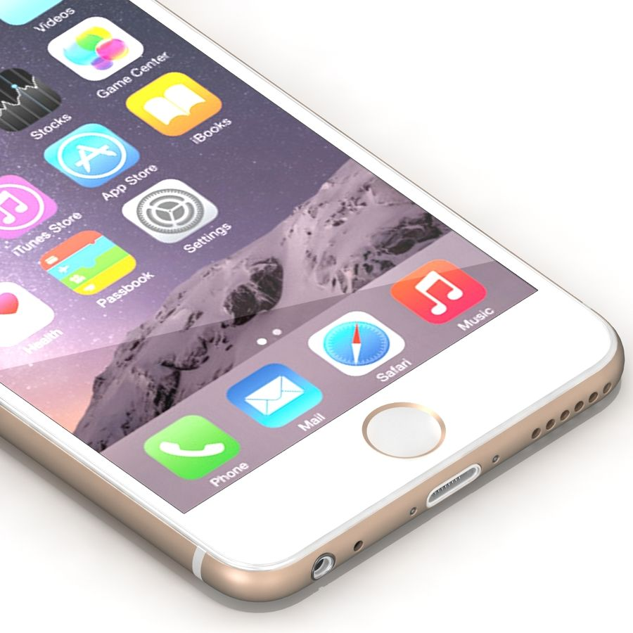 Iphone 6 Tutti royalty-free 3d model - Preview no. 20