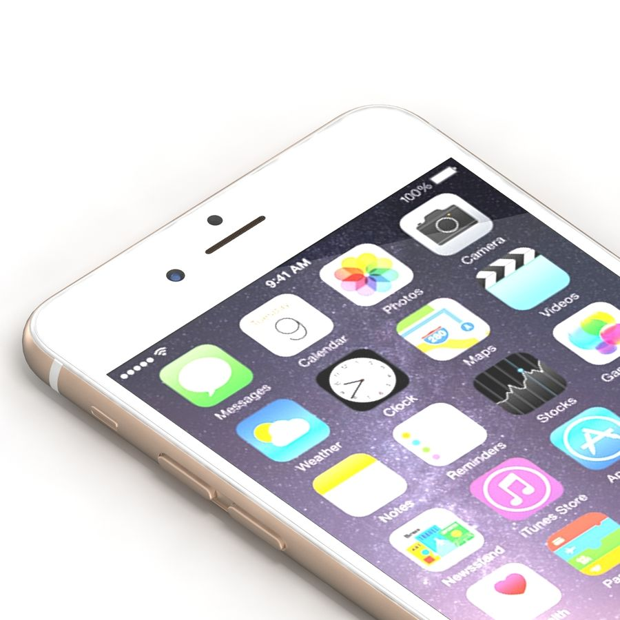 Iphone 6 Tutti royalty-free 3d model - Preview no. 18