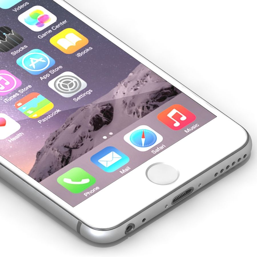 Iphone 6 Tutti royalty-free 3d model - Preview no. 28