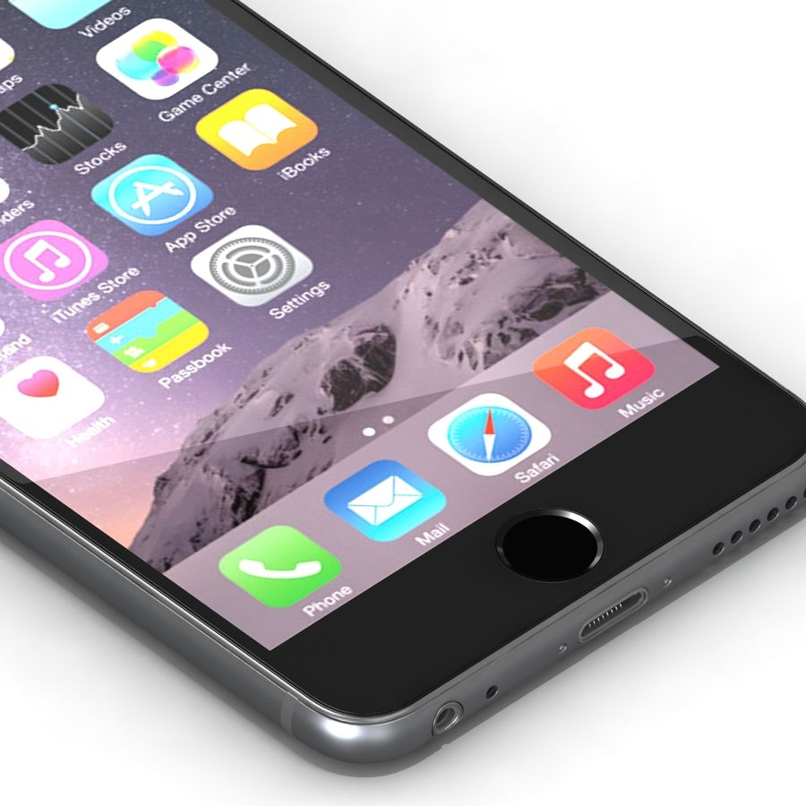 Iphone 6 Tutti royalty-free 3d model - Preview no. 10