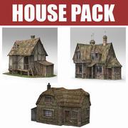 House Pack 3d model