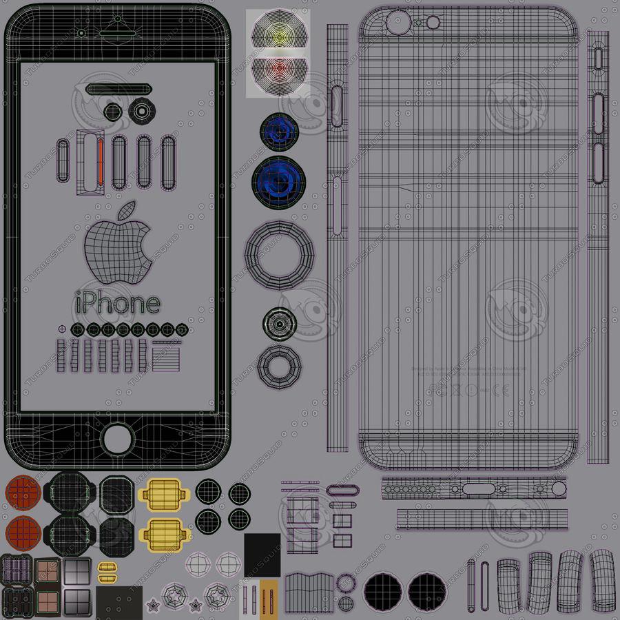 Айфон 6 royalty-free 3d model - Preview no. 39