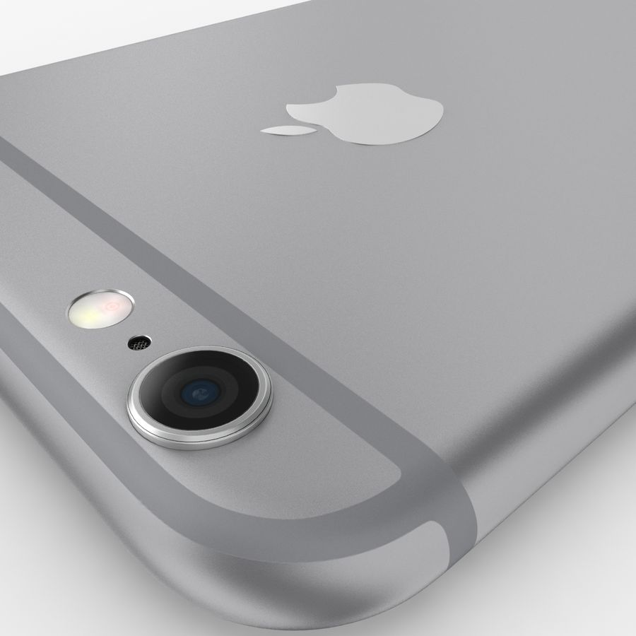 Айфон 6 royalty-free 3d model - Preview no. 10