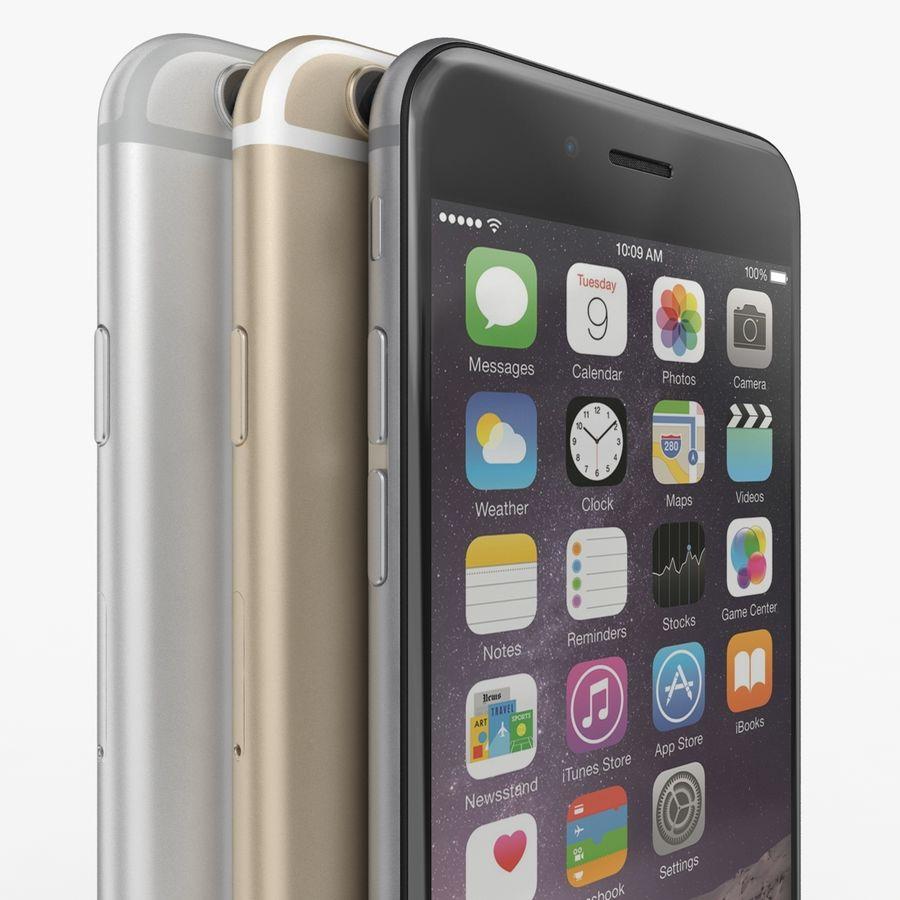 Айфон 6 royalty-free 3d model - Preview no. 21