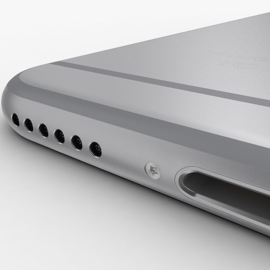 Айфон 6 royalty-free 3d model - Preview no. 1