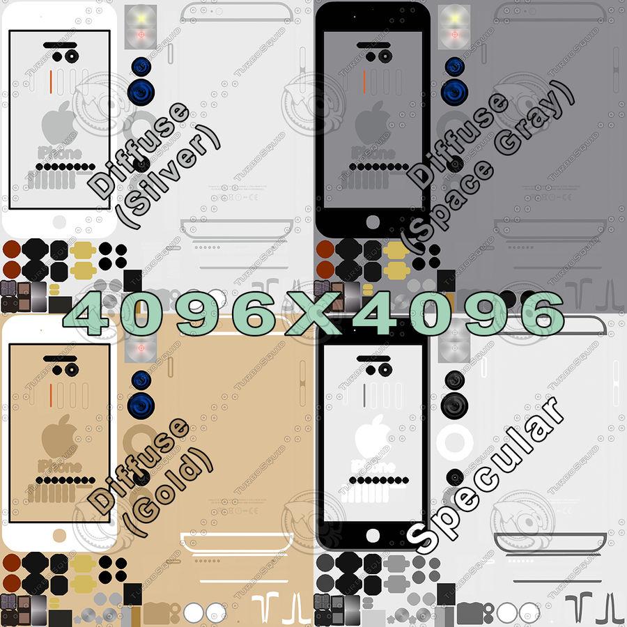 Айфон 6 royalty-free 3d model - Preview no. 40