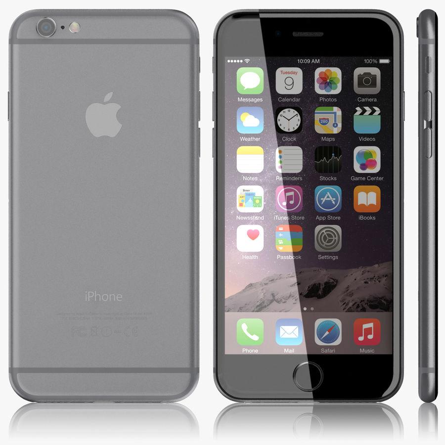 Айфон 6 royalty-free 3d model - Preview no. 4