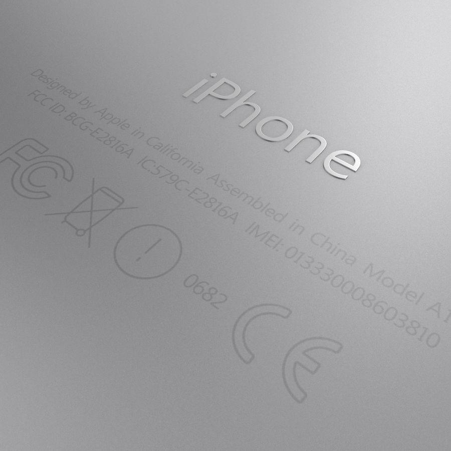 Айфон 6 royalty-free 3d model - Preview no. 17