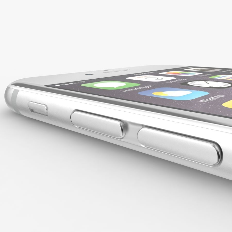 Айфон 6 royalty-free 3d model - Preview no. 7