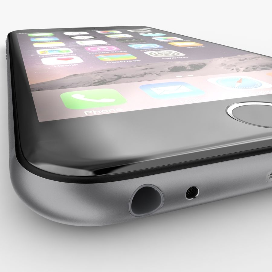 Айфон 6 royalty-free 3d model - Preview no. 2
