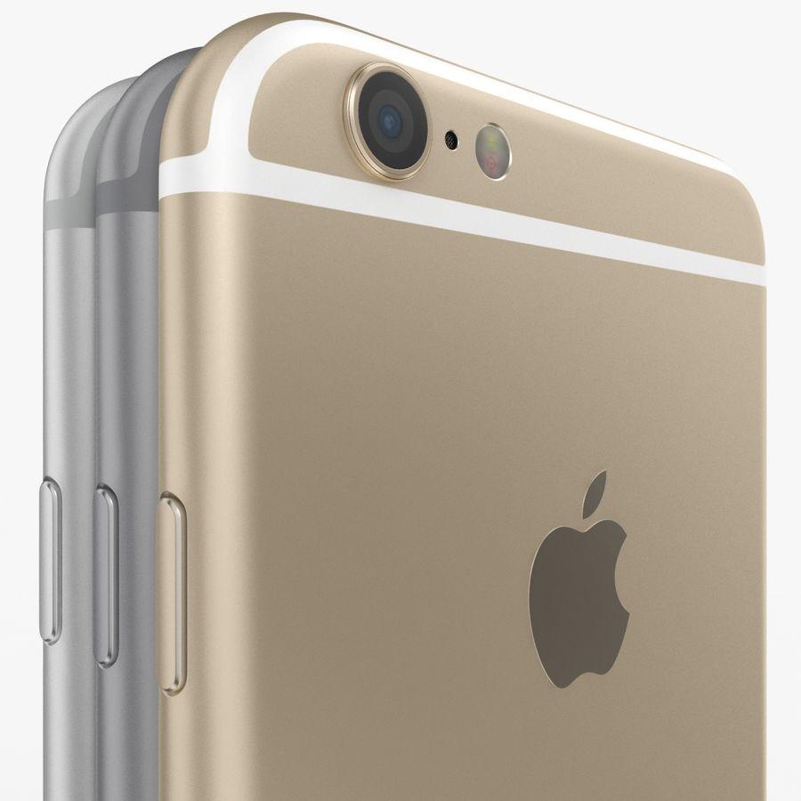 Айфон 6 royalty-free 3d model - Preview no. 22