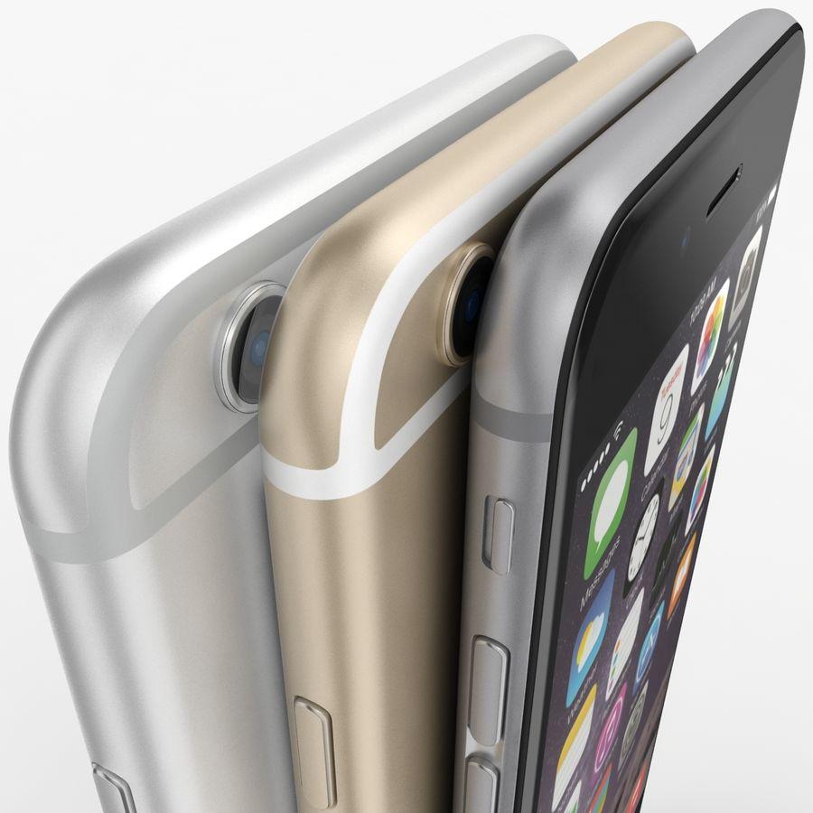 Айфон 6 royalty-free 3d model - Preview no. 23