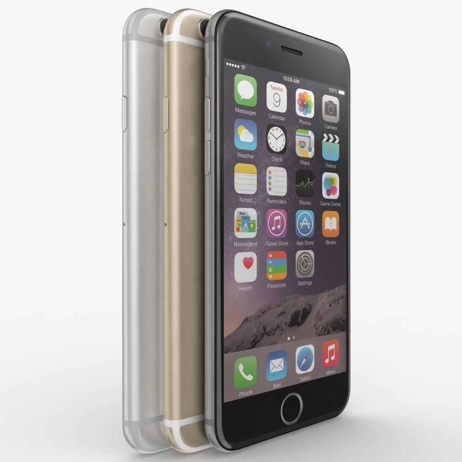 Айфон 6 royalty-free 3d model - Preview no. 20