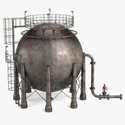 Magazynowanie gazu 3d model
