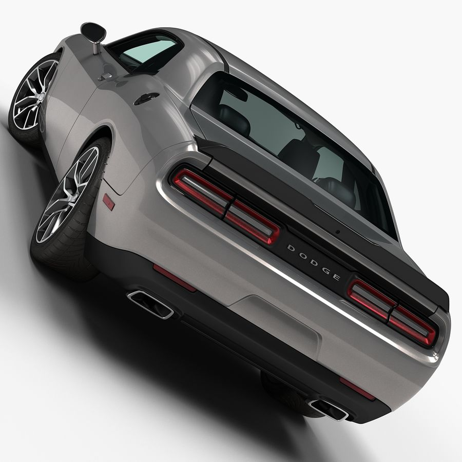2015 Dodge Challenger 392 HEMI royalty-free 3d model - Preview no. 5