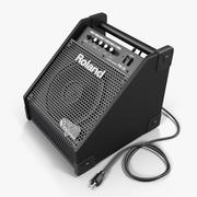 Roland PM-10 Drum Amplifier 3d model