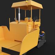 Asfalt Finişer 3d model