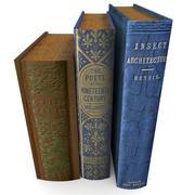 Book Set 3 3d model