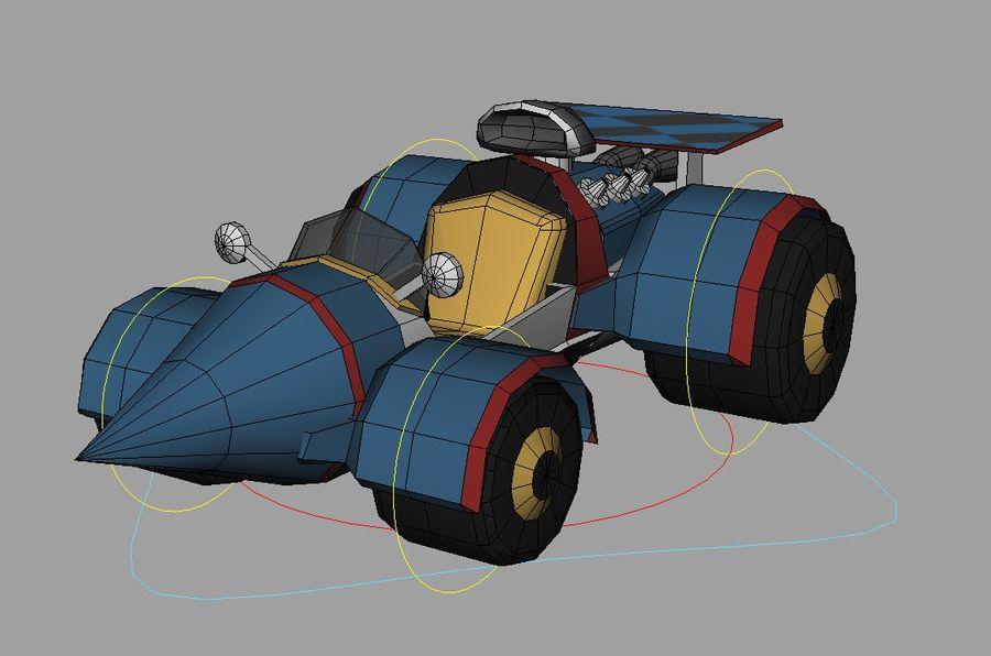 katil balina royalty-free 3d model - Preview no. 2