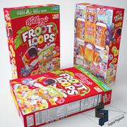 Froot Loops spannmål 3d model