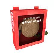 Fire Hose Case Low Poly 3d model
