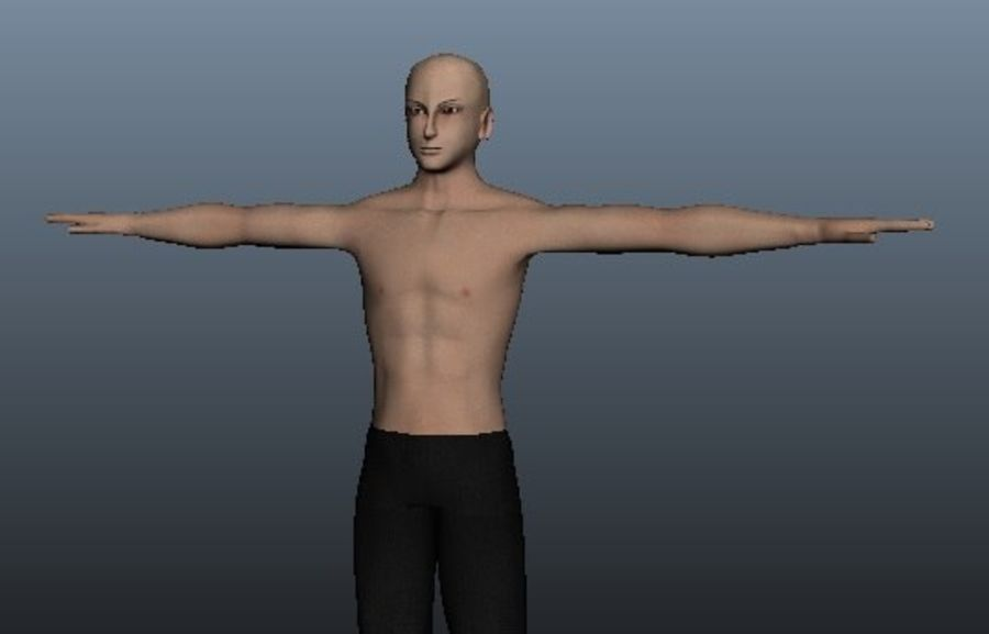 Asian Male 3d model royalty-free 3d model - Preview no. 2