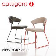 卡里加里斯纽约金属椅子CS / 1022 3d model