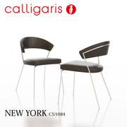 卡里加里斯纽约金属椅子CS / 1084 3d model