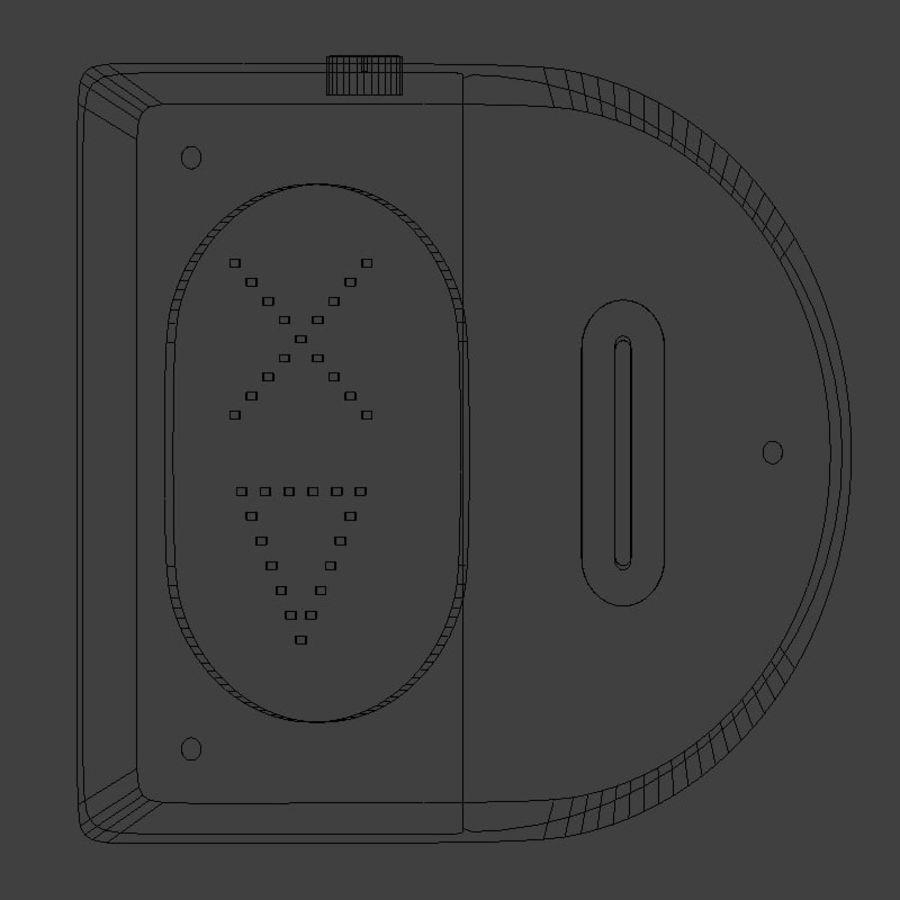 读卡器 royalty-free 3d model - Preview no. 8
