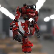 Robot MR-V01 3d model