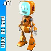 Küçük Bit Cabby Robotu 3d model