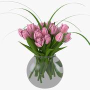 Tulips 3d model