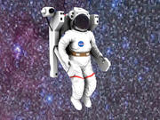 Astronaut [medpoly] 3d model