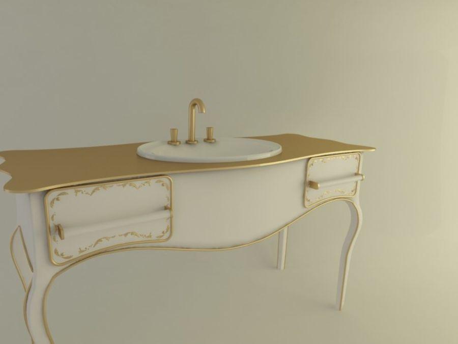 Royal Sink royalty-free 3d model - Preview no. 5